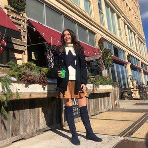Club Monaco flare skirt